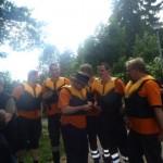 Schlauchbootrennen - 3.ter Platz