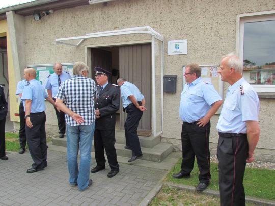 Verabschiedung Manfred Kalleske von der FF Münchehofe