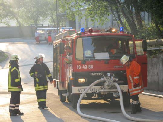 Feuer Fermacell-Werk