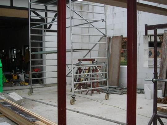 Anbau zur Erweiterung des Gerätehauses