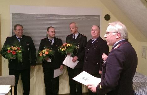 Jahreshauptversammlung der Feuerwehr Münchehof 2015