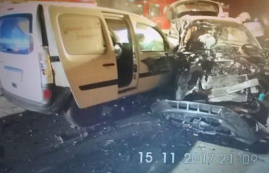 Verkehrsunfall auf der B 243